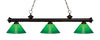 Z-Lite Riviera Bronze 200-3BRZ-GCG14 Island/Billiard Light