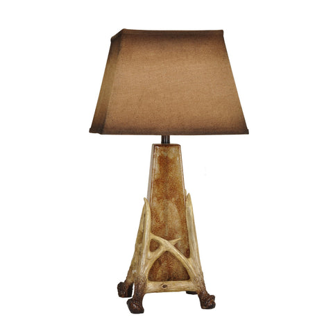 Crestview Antler Cage Table Lamp CVABS1050 - Sky Home Decor