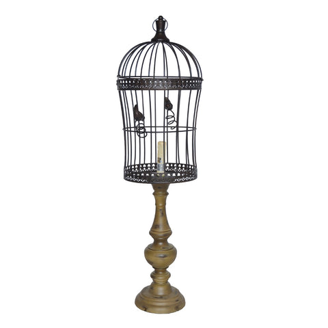 Crestview Birdcage Table Lamp CVAVP327
