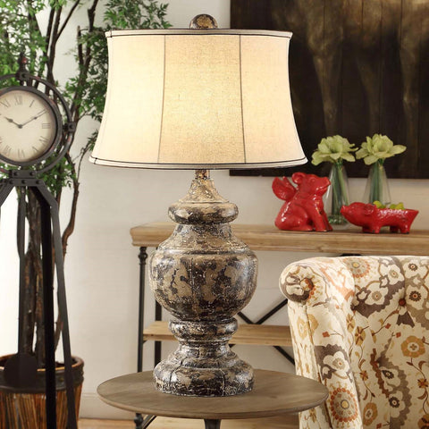 Crestview Antique Corbel Table Lamp CVAVP376 - Sky Home Decor