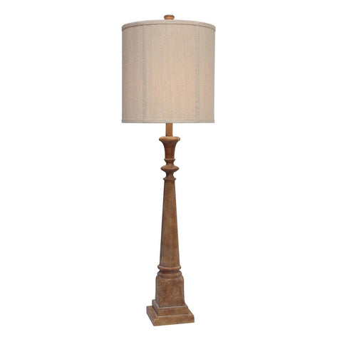 Crestview Bed Post Table Lamp CVAVP383