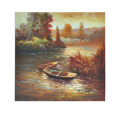 Crestview Autumn On The Lake Lamp CVBZWF006 - Sky Home Decor