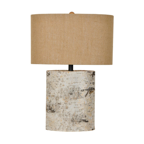 Crestview Birch Wood Table Lamp CVLY1913
