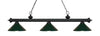 Z-Lite Riviera Matte Black 200-3MB-MDG Island/Billiard Light