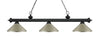 Z-Lite Riviera Matte Black 200-3MB-MAS Island/Billiard Light