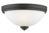 Z-Lite Ashton 443F3-BRZ Flush Mount Light