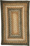 Homespice Decor Jute Braided Coffee Area Rug