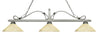 Z-Lite Melrose 114-3AS-AGM14 Island/Billiard Light