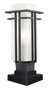 Z-Lite Abbey 549PHM-SQPM-BK Outdoor Light