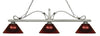 Z-Lite Melrose 114-3AS-ARBG Island/Billiard Light
