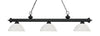 Z-Lite Riviera Matte Black 200-3MB-DWL14 Island/Billiard Light