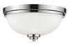 Z-Lite Ashton 443F3-CH Flush Mount Light