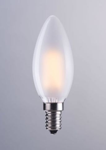 Zuo Mod E12 Type B 3000K Led 4W 98 X 35Mm Light Bulb - Frosted White