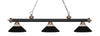 Z-Lite Rivera Matte Black & Antique Copper 200-3MB+AC-RMB Island/Billiard Light