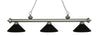 Z-Lite Riviera Antique Silver 200-3AS-MMB Island/Billiard Light