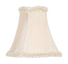 Livex Lighting Chandelier Shade  Champagne Fancy Square Silk Clip Shade S279