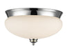 Z-Lite Amon 721F3-CH Flush Mount Light