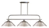 Z-Lite Annora 437-3BN-SBN Island/Billiard Light