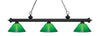 Z-Lite Riviera Matte Black 200-3MB-GCG14 Island/Billiard Light