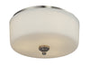 Z-Lite Cardinal 434-F3-BN Flush Mount Light