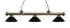 Z-Lite Riviera Antique Brass 200-3AB-MMB Island/Billiard Light