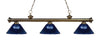 Z-Lite Riviera Antique Brass 200-3AB-ARDB Island/Billiard Light
