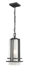 Z-Lite Abbey 549CHM-BK Outdoor Light