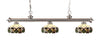 Z-Lite Riviera Brushed Nickel 200-3BN-Z14-33 Island/Billiard Light