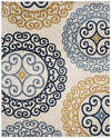 Safavieh Amherst AMT439T Ivory / Gold Rug