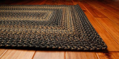 Homespice Decor Black Forest Indoor/Outdoor Braided Rug - Sky Home Decor