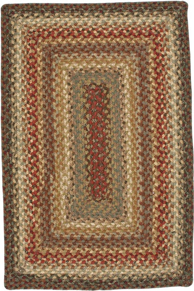 Homespice Decor Bosky Cotton Braided Rug - Sky Home Decor