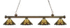 Z-Lite Riviera Antique Brass 200-4AB-Z14-46 Island/Billiard Light