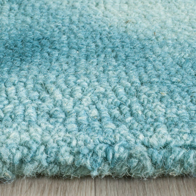 Safavieh Dip Dye DDY535D Turquoise / Ivory