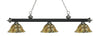 Z-Lite Rivera Matte Black & Brushed Nickel 200-3MB+BN-R14A Island/Billiard Light