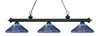 Z-Lite Riviera Matte Black 200-3MB-D16-1 Island/Billiard Light