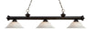 Z-Lite Riviera Bronze 200-3BRZ-WM16 Island/Billiard Light