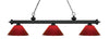 Z-Lite Riviera Matte Black 200-3MB-PRD Island/Billiard Light