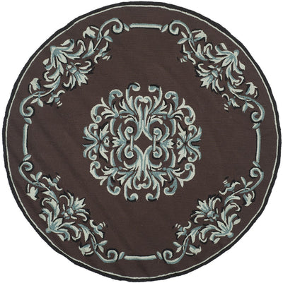 Safavieh Easy Care EZC735D Chocolate / Multi Rug
