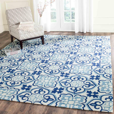 Safavieh Four Seasons FRS230B Blue / Ivory Rug