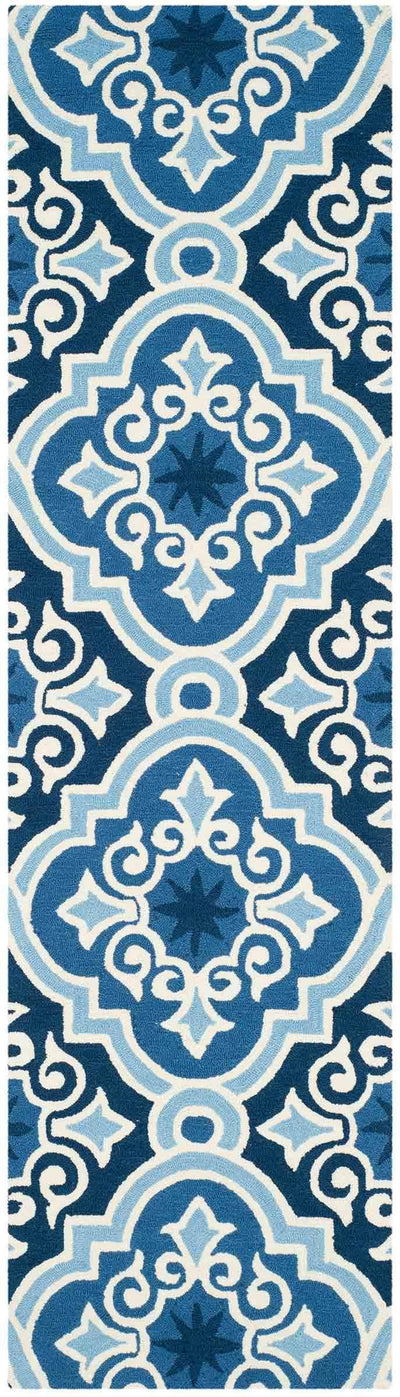 Safavieh Four Seasons FRS231B Navy / Blue Rug