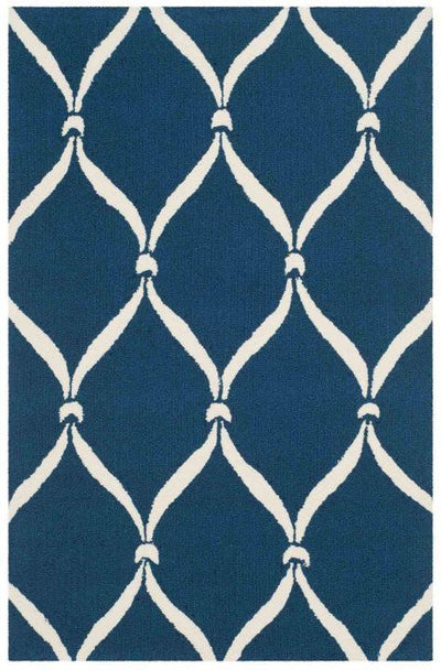 Safavieh Four Seasons FRS242H Navy / Ivory Rug