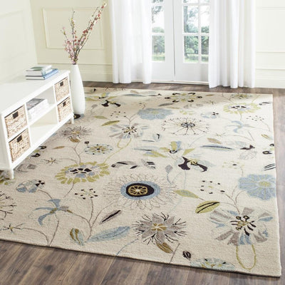 Safavieh Four Seasons FRS482C Ivory / Blue Rug