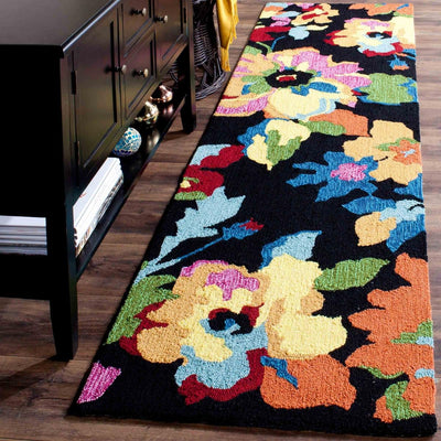 Safavieh Four Seasons FRS509E Black / Multi Rug