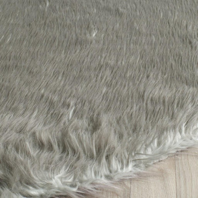 Safavieh Faux Sheep Skin FAA118B Grey Rug