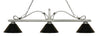 Z-Lite Melrose 114-3AS-PBK Island/Billiard Light