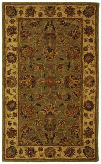 Safavieh Heritage HG343A Green / Gold Rug