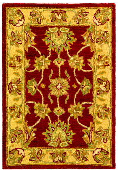 Safavieh Heritage HG343C Red / Gold Rug