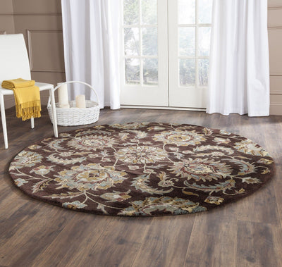 Safavieh Heritage HG921A Brown / Gold Rug
