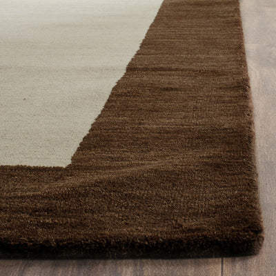 Safavieh Himalaya HIM585A Beige / Dark Brown Rug