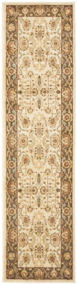 Safavieh Heirloom HLM1666-1125 Creme / Brown Rug